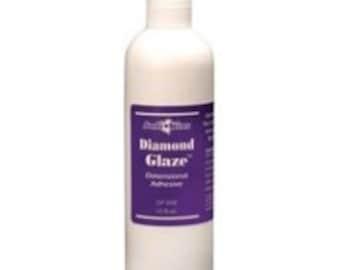 Judikins 8 oz Diamond Glaze with APPLICATOR TIP Judi Kins Pendant Sealer