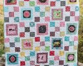 PDF Quilt Pattern // Modern Quilt // Rylee's Path