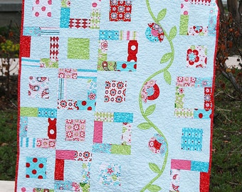 Quilt Pattern PDF Sew Charming charm pack easy