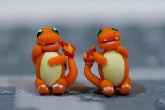Pokemon Charmander Earrings