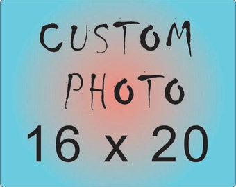 CUSTOM Photograph print, 16x20, your choice of photo from my shop