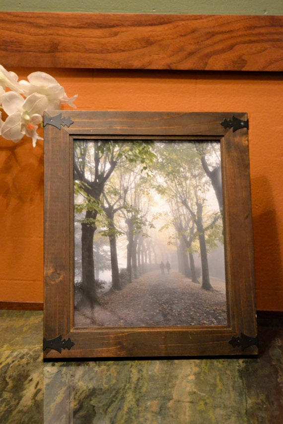 Italy Tuscany framed photograph, love photography, couple in the misty trees, Valentine, 8x10 photo, framed home decor, framed wall art