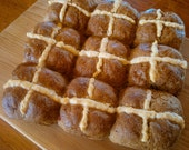 Hot Cross Buns (gluten free and dairy free)