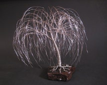 Weeping Willow Tree Sculpture | Makes Great Anniversary Gift or Wedding Cake Topper