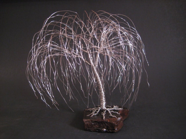 Weeping willow tree sculpture great anniversary gift