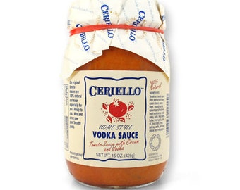Ceriello Homemade Vodka Sauce, 15oz