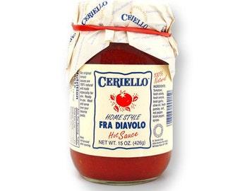 Ceriello Homemade Fra Diavolo (Spicy) Sauce, 30oz