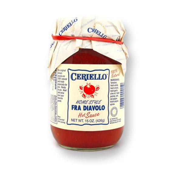Ceriello Homemade Fra Diavolo (Spicy) Sauce, 30oz