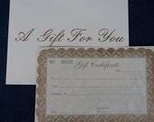 Inspired Stitches Gift Certificate