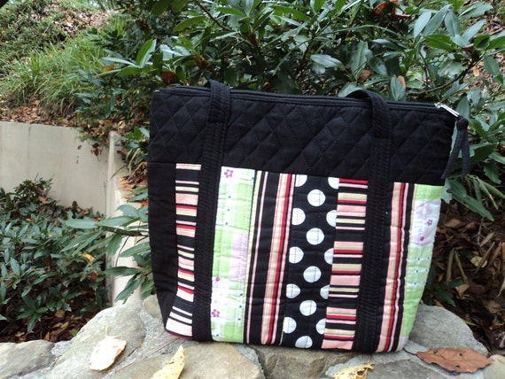All Purpose Tote or Purse to be embroidered with monogram or name in any one of many different colors.