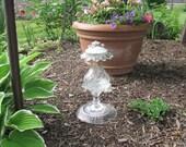 """Garden Totem- """"Dew Drop"""""""