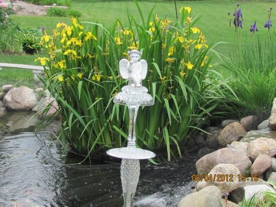 Welcome Angel Garden Totem