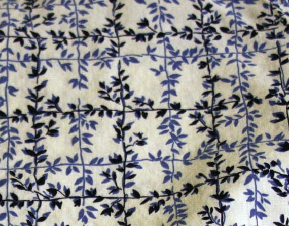 Cornflower Blue Flower Sack Fabric