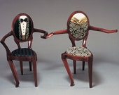 Dancing Chairs - Sculpture