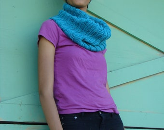 Turquoise Neck Warmer