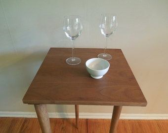 End Table Night Table Occasional Table Three Legged Table