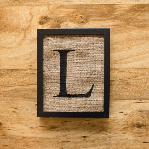 letter wall decor letter l alphabet monogram burlap wall decor by laxtoyvr 16254