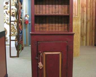 Early American New Albany Cupboard - Primitive Finish
