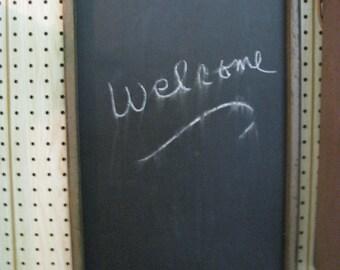Framed Chalkboard - Primitive Finish