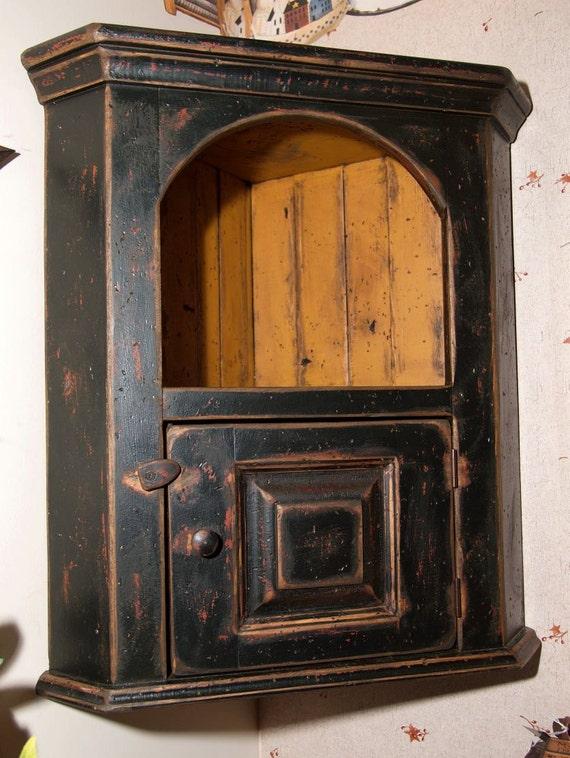 Madison corner cabinet