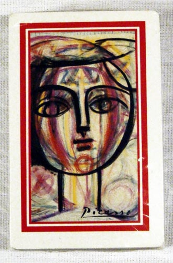 Vintage Pablo Picasso Playing Cards 3