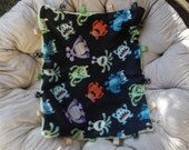 Carseat Taggie Blanket
