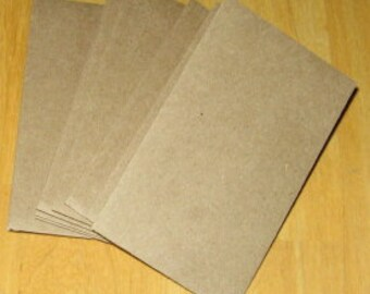 "50 Brown Bag Coin Envelopes  Brown Kraft Paper Mini Envelope 2-1/4"" x 3-3/4"""