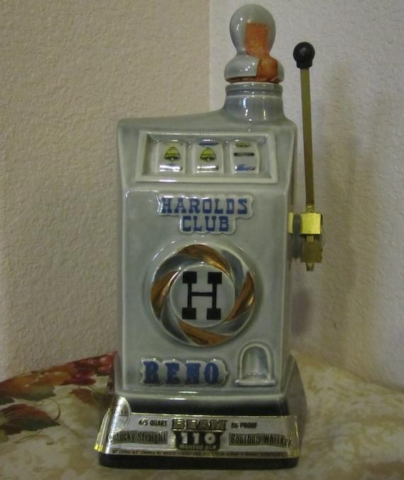 Jim Beam decanter - slot machine