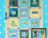 Creatures of the Sea Quilt Pattern