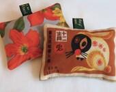 Lavender sachet with Chinese zodiac rabbit design