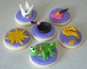 Rapunzel Inspired Cupcake and Cookie Toppers - 1 Dozen