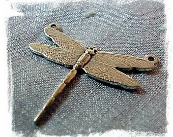 Dragonfly Silver Ox  (x2)
