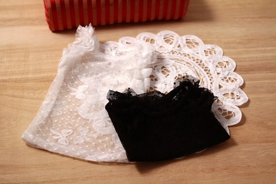 SAYOKO outfit LUTS dollfie 1/4 BJD White Lace Top