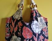 Cotton Batik Hobo Bag