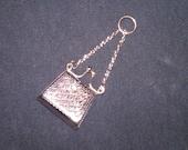 Vintage Sterling Silver 925 Purse Pendant