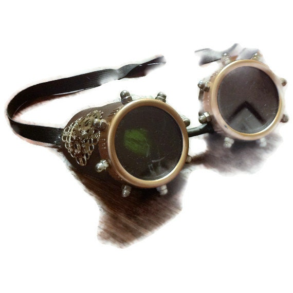 Steampunk Aviator adventure goggles by byblackbirddesigns ...
