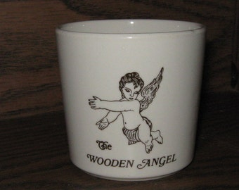 Vintage Mayer China Wooden Angel Small Mug or Cup