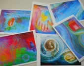 Rites of Passage art cards with envelopes, set of 6