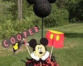 Mickey Mouse Centerpiece (Personalized)