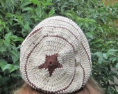 Star Slouch Hat Pattern for Adults Permission to Sell Item