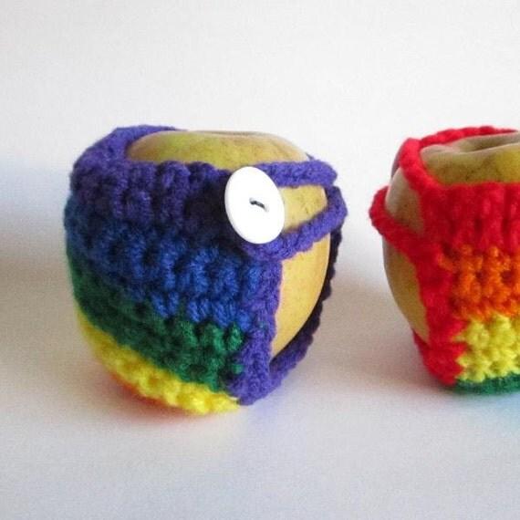 Rainbow Apple Cozy