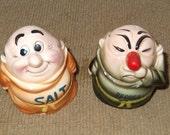 Vintage 1940s Kreiss Munk Salt and Pepper Shakers