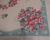 Vintage 1950s Apples Tablecloth