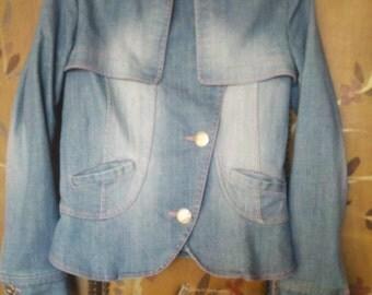 90s Vintage faded denim jacket
