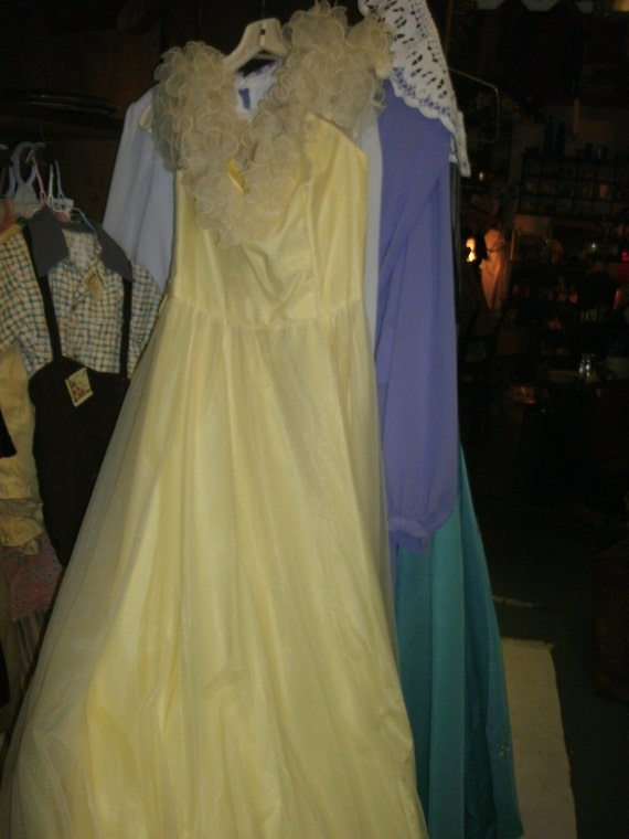 Bridemaid, Prom, Evening dress  from the 70's