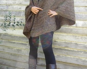 Around Town Brown  Poncho