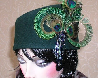 SALE! Toque cossack cloche hat one of a kind..Reduced!