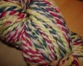 Tropic Corals - 2 ply handspun art yarn
