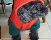 MADE TO ORDER Polar Fleece Jacket for Small Dog or Cat