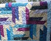 """Twin Bed - Gorgeous Batiks 76"""" square - SALE SALE SALE"""